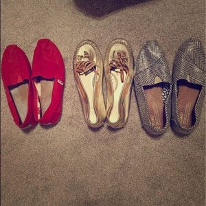 Three pair size 6.5 shoes!